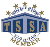 Logo from the Texas Self-Storage Association.